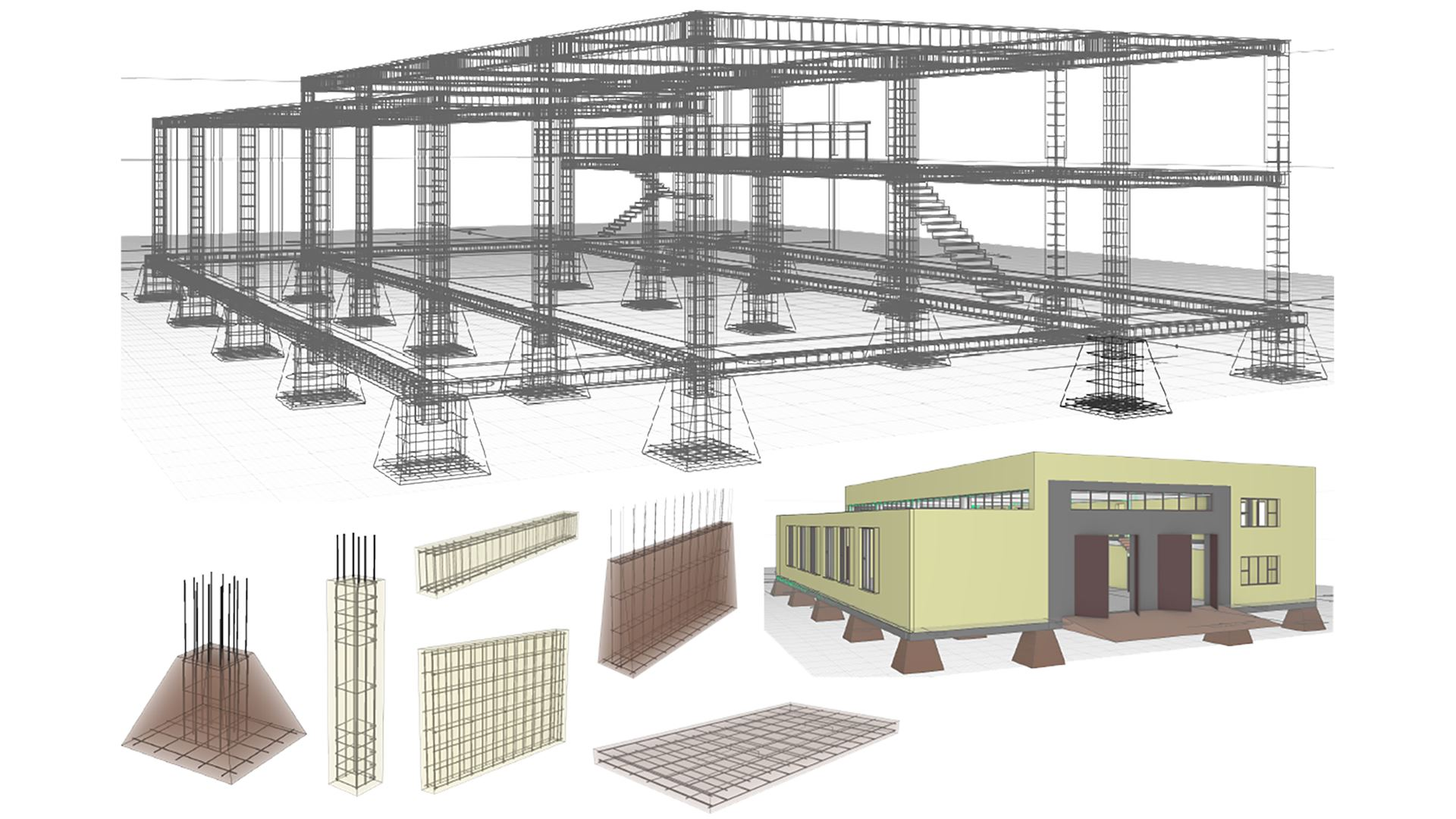 Renga structure is a bim software solution for structural engineering that provides a feature rich tool helping to drive efficient design processes such as